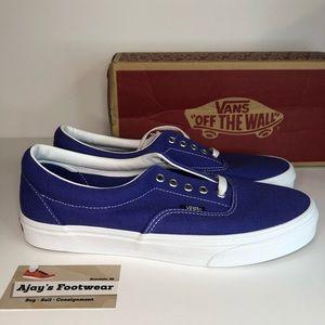 NEW VANS ERA RETRO SPORT Canvas ROYAL BLUE Shoes